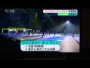 Шоу «Fantasy On Ice», репетиция репортаж японского телевидения