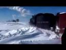 Disco trance. System Project - Final win Train. Winter magic fantasy snow mix