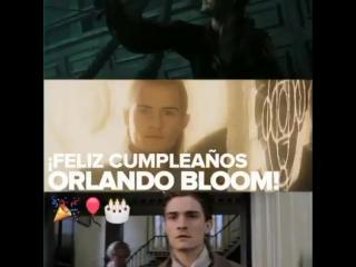 WB em homenagem ao aniversário do Orlando Bloom