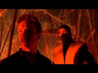 Мортал-Комбат-Смертельная-Битва-Джони-Кейдж-Против-Скорпиона