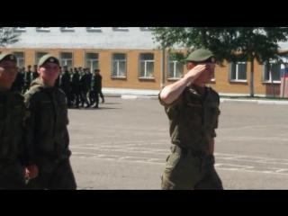присяга. Город КЯХТА БУРЯТИЯ. 2017 год.