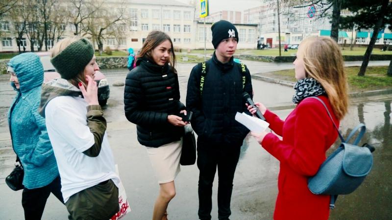 15 по 0,5! Салдинцы приняли участие в акции от телеканала ТНТ