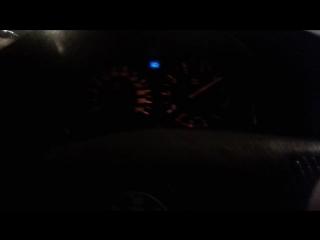BMW E34 1jz-gte tt. Разгон 0-240 км/ч