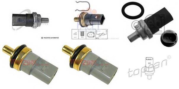 Датчик, температура охлаждающей жидкости для AUDI Q3 (8U)