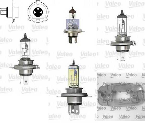 Лампа накаливания, противотуманная фара; Лампа накаливания, основная фара для AUDI QUATTRO (85)