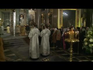 Рождественское богослужение в Казанском соборе