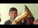 16 08 17 Духовой школьный оркестр организовал в с. Красное Увинского района бывший ...