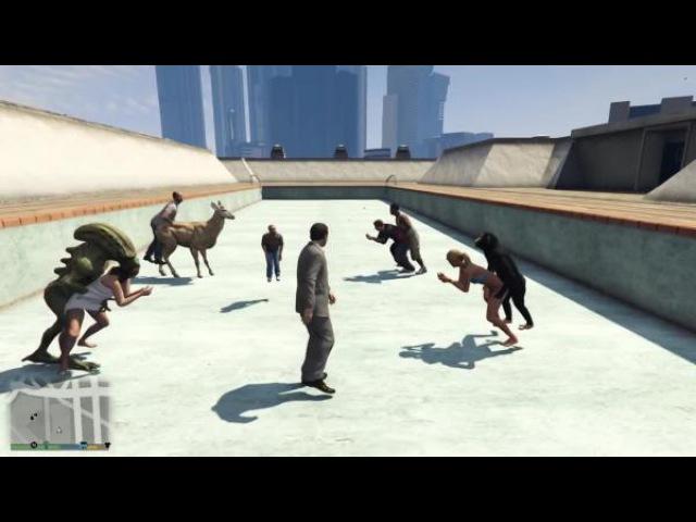 GTA 5 - Разрушители легенд 3