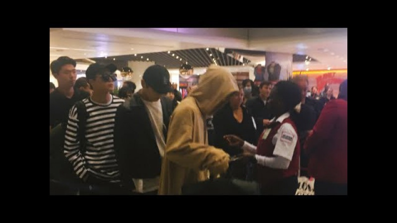 170524 BTS @ LAX Airport Fancam Compilation