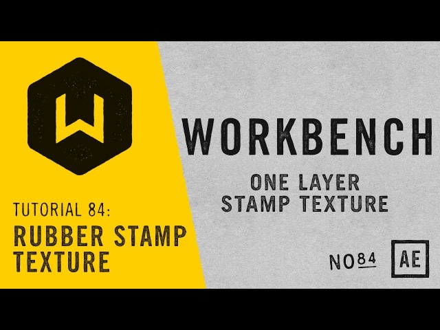 Tutorial 84: Rubber Stamp Texture