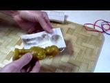 ЭЛАСТОФОРМ как делать фигурные восковые свечи ч. 2