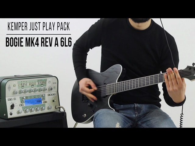 Kemper Profiles | Mesa Boogie Mark IV Rev A 6L6 | Just Play Pack (Playthrough)