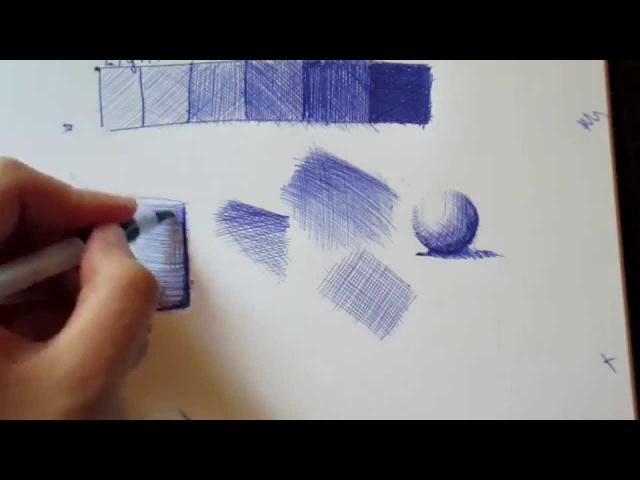 How To Ballpoint Pen The Technique