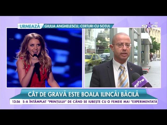 Ilinca Băcilă, grav bolnavă pe scena de la Eurovision! A cântat și a riscat să rămână făra voce