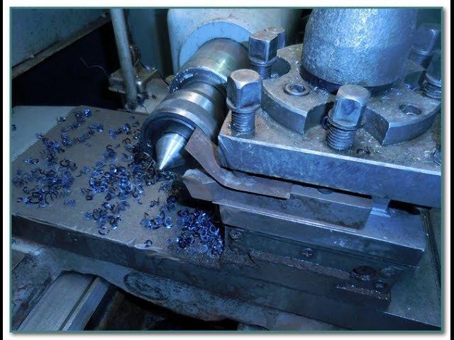 Как сделать стружколом на токарном станке 1к62 и др