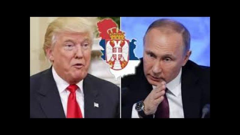 ALARMANTNO! SRBIJA PRED RASPADOM! - Amerika u inat Rusima cepa Srbiju...