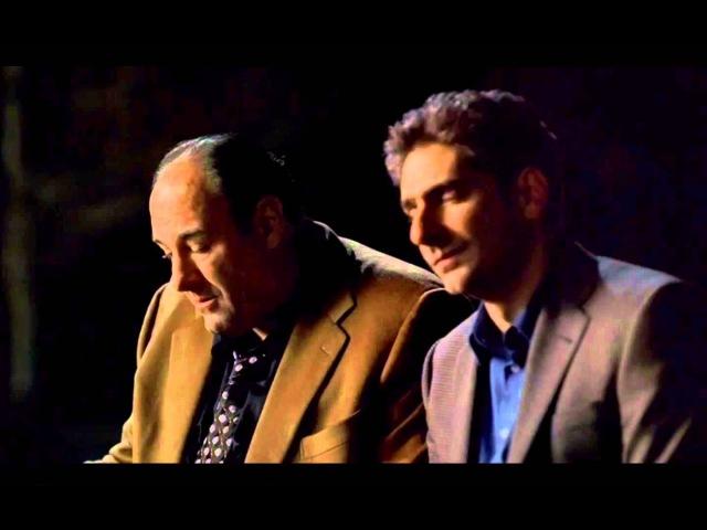 Клан Сопрано - Три мушкетера ептель / Кристофер и Тони