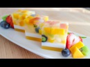 Agar Jelly Fruit Cake Recipe เค้กวุ้นผลไม้ - Hot Thai Kitchen!