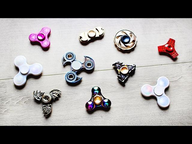 ТОП-10 Спиннеров из моей Коллекции! TOP-10 Spinners from my Collection