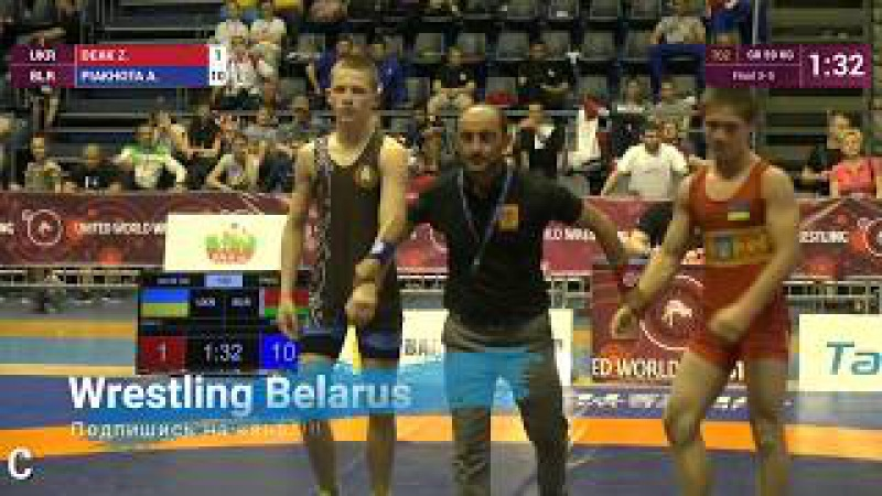 Финал 3-5 Zoltan Daniel DEAK (UKR) - Alikasei PIAKHOTA (BLR)