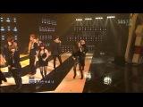 25.10.2009 1nkigayo Supernova &amp T-ARA Time To Love 2