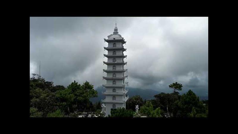 다낭 바나힐 정상 Top of Ba Na Hills Da nang Vietnam, cumbre, قمة الجبل