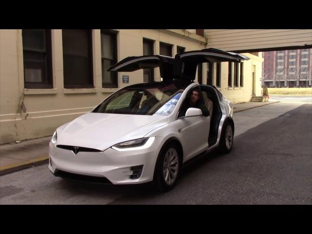 Tesla Model X Странные фишки и крутые особенности ОБЗОР (Doug DeMuro на русском)
