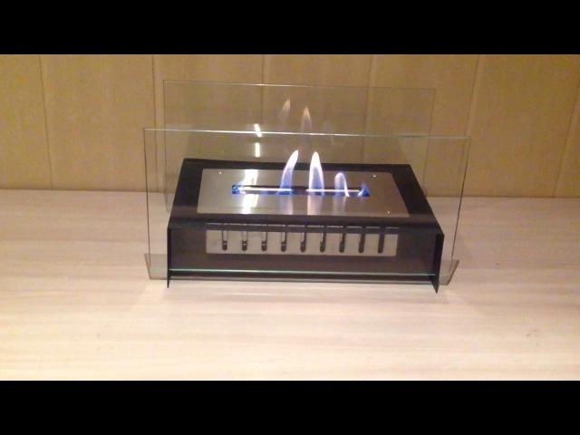 Биокамин Minimal mini black от ЭкоЛайф, видеообзор