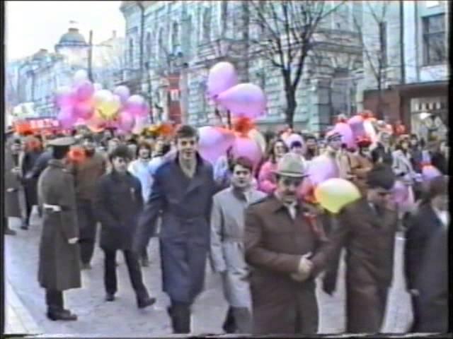 7 ноября 1989 года. Областная универсальная научная библиотека г.Кировоград.