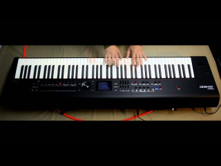 Roland Rd800 Vs Yamaha Cp4 stage piano performed by S4K ( Space4Keys Keyboard Solo )
