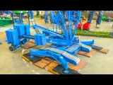 Stunning GIANT RC crane builds a wind power plant!