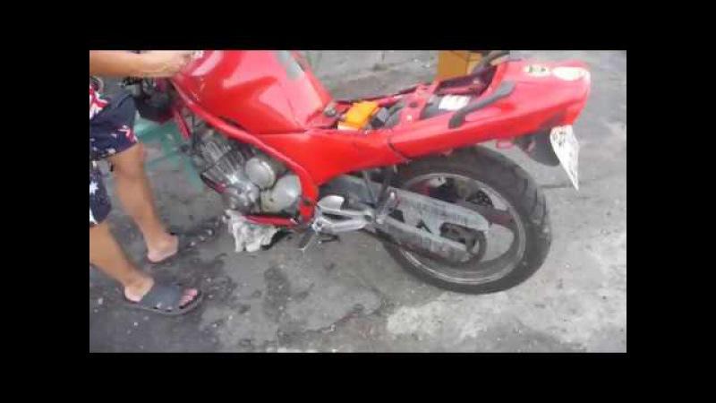 Моторазборка Yamaha XJ600 Diversion (1992)