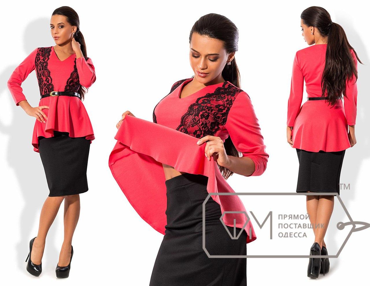 Молодежный женский деловой костюм доставка