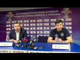 Фрагмент пресс-конференции после матча «Металлург» - «Сибирь» (0:2)