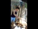 как девушки делают шашлык:-d