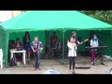 СТИХИЯ band - Фонари (Город 312 Cover). Концерт в парке