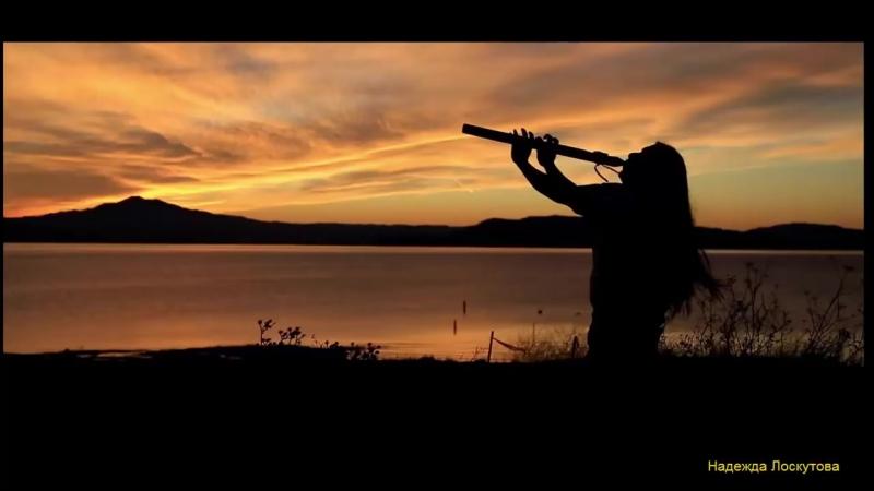 Флейта североамериканских индейцев и пение птиц Relaxing Native Flute Birds Singing
