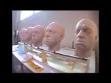 Уникальные кадры создания сцены битвы между Нео и агентом Смитом в Матрице