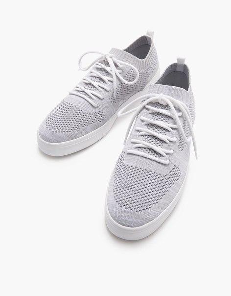Мужские комбинированные кроссовки из ткани