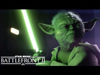 Star Wars Battlefront 2: официальный трейлер игрового процесса