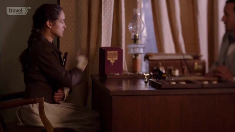 Музейные тайны(4 сезон 02)Операция Пасториус, Нелли Блай и Бостонский душитель