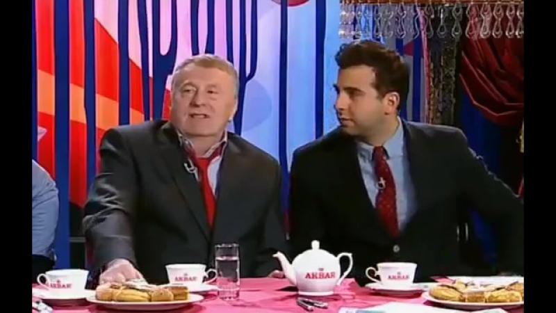 Прожектор Перис Хилтон и Жириновский.