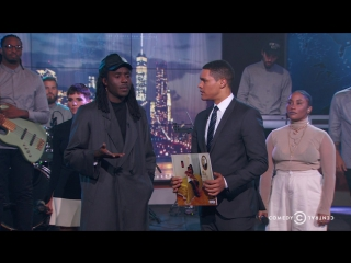 Exclusive - Blood Orange - Love Ya-The Daily Show with Trevor Noah