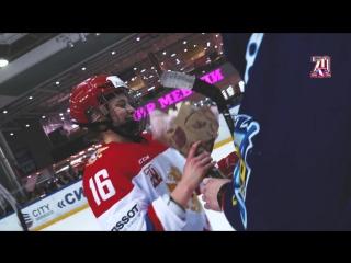 Напутствие В.А.Третьяка женской сборной России и товарищеская игра против ХК