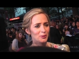 Premiere- Emily Blunt, Haley Bennett, Tate Taylor + Luke Evans - The Girl on the Train