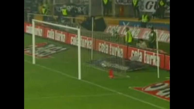 2008 - 2009 Sezonu - Galatasaray-Beşiktaş dakika 13 gol Delgado