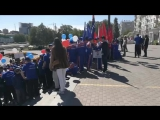 День защиты детей, Исторический сквер