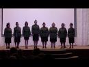 Песни Идет солдат по городу и На безымянной высоте в исполнении коллектива Рябинушка