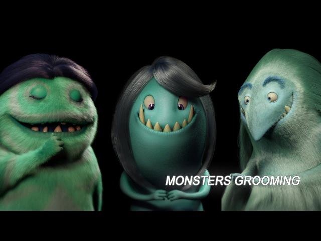 Maddie's Monsters: Monsters Grooming (Maya Xgen) Timelapse
