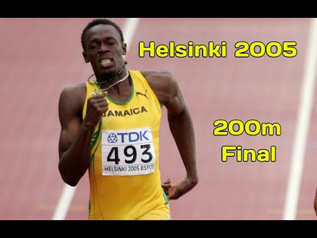 Was Usain Bolt winning?
